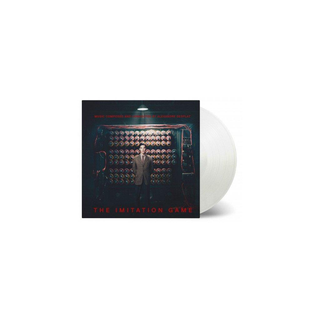 VINYLO.SK | OST - IMITATION GAME (LP)180GR./GATEFOLD/INSERT/500 CPS ON TRANSPARENT VINYL