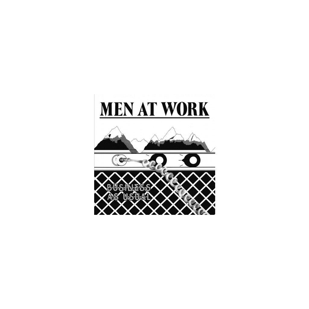 VINYLO.SK   MEN AT WORK - BUSINESS AS USUAL (LP)180 GR/INSERT/ORIGINAL BLACK & WHITE AUSTRALIAN SLEEVE
