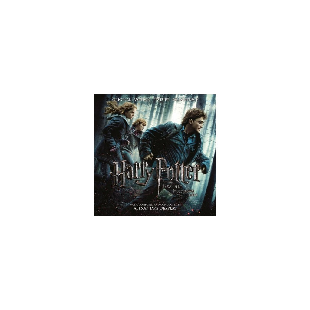 VINYLO.SK | OST - HARRY POTTER & THE..PT.1 (2LP)..DEATHLY HALLOWS PT.1 // 180 GRAM / GATEFOLD / INSERT
