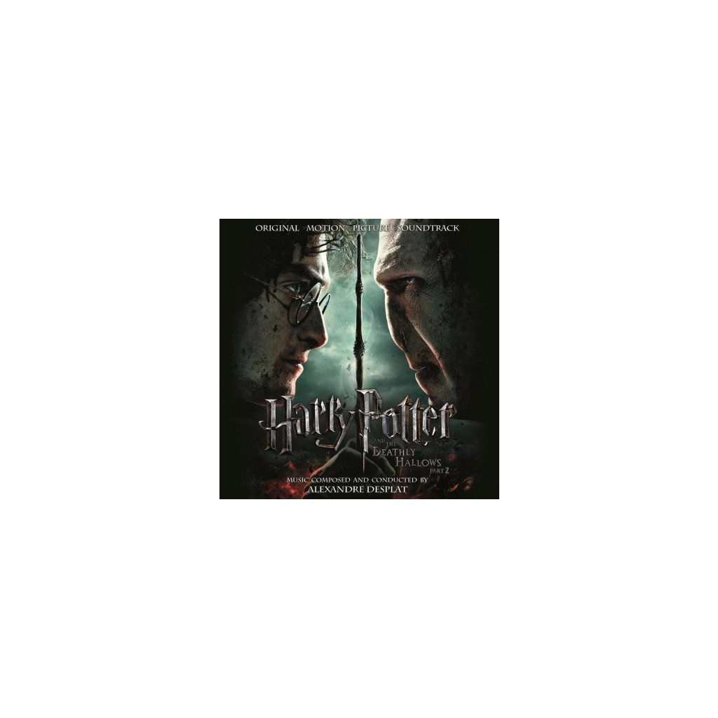 VINYLO.SK | OST - HARRY POTTER & THE..PT.2 (2LP)..DEATHLY HALLOWS PT.2// 180GR / GATEFOLD / PVC SLEEVE