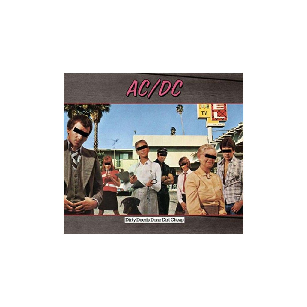 VINYLO.SK | AC/DC - DIRTY DEEDS DONE DIRT CHEAP / HQ [LP]