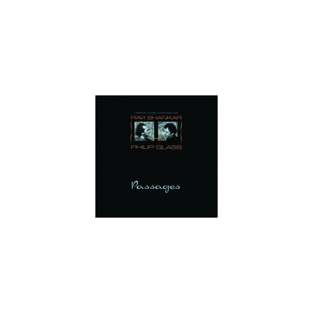VINYLO.SK | SHANKAR, RAVI/PHILIP GLAS - PASSAGES (LP)180 GRAM AUDIOPHILE VINYL / PVC PROTECTIVE SLEEVE