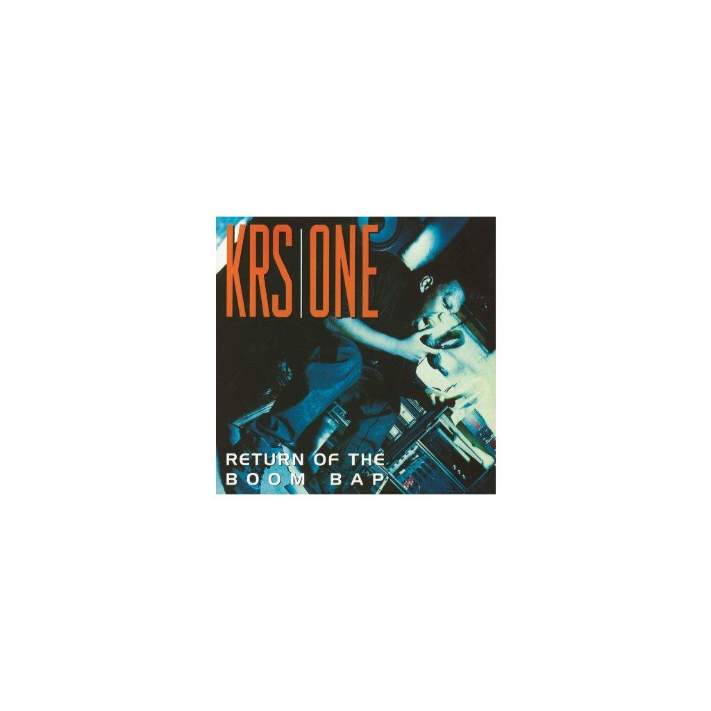 VINYLO.SK | KRS ONE - RETURN OF THE BOOM BAP (2LP)180GR./PRINTED INNERSLEEVES