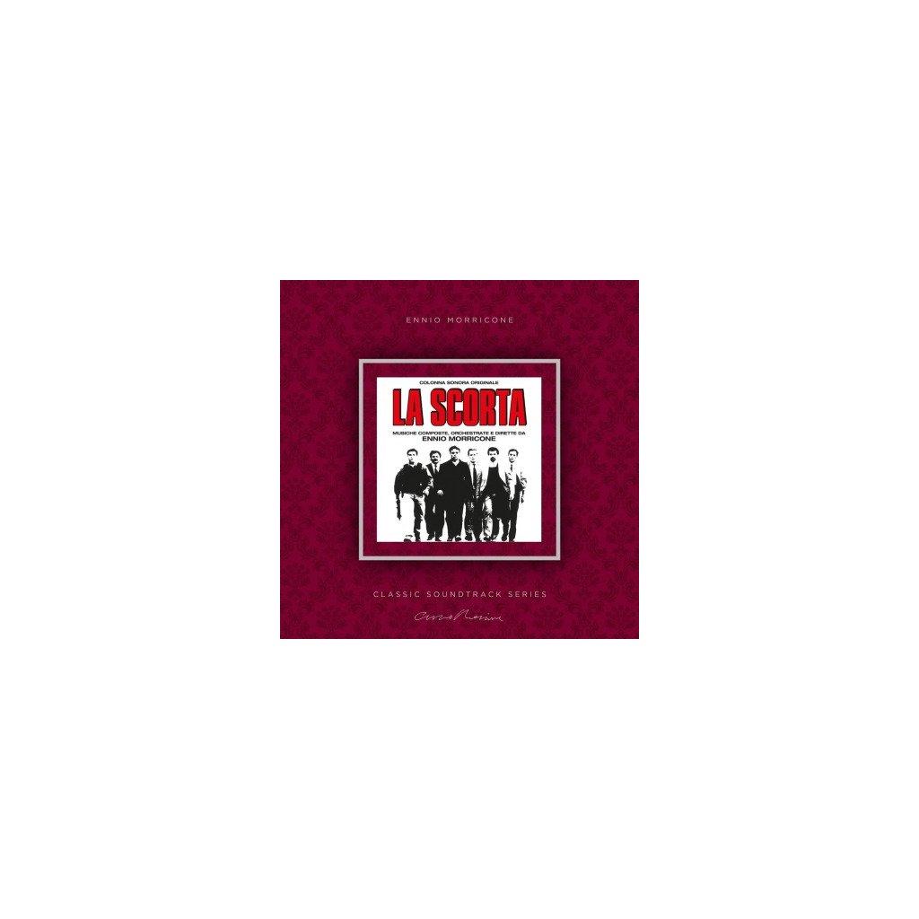 VINYLO.SK | MORRICONE, ENNIO - LA SCORTA (OST) (LP)180GR./INSERT/OST/1000 CPS ON TRANSPARENT VINYL