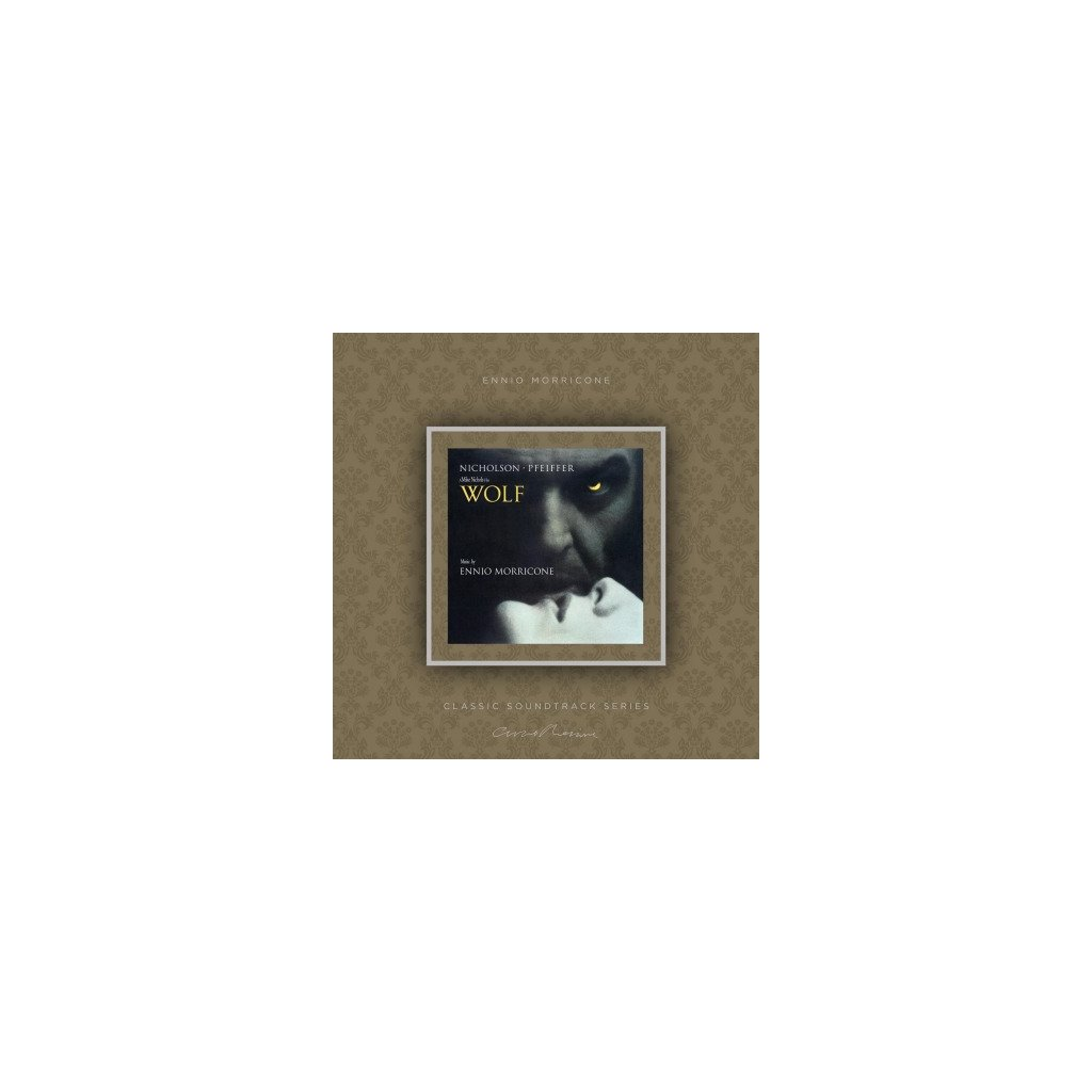 VINYLO.SK | MORRICONE, ENNIO - WOLF (OST) (LP)180GR./INSERT/OST/PVC SLEEVE/1000 CPS TRANSPARENT VINYL