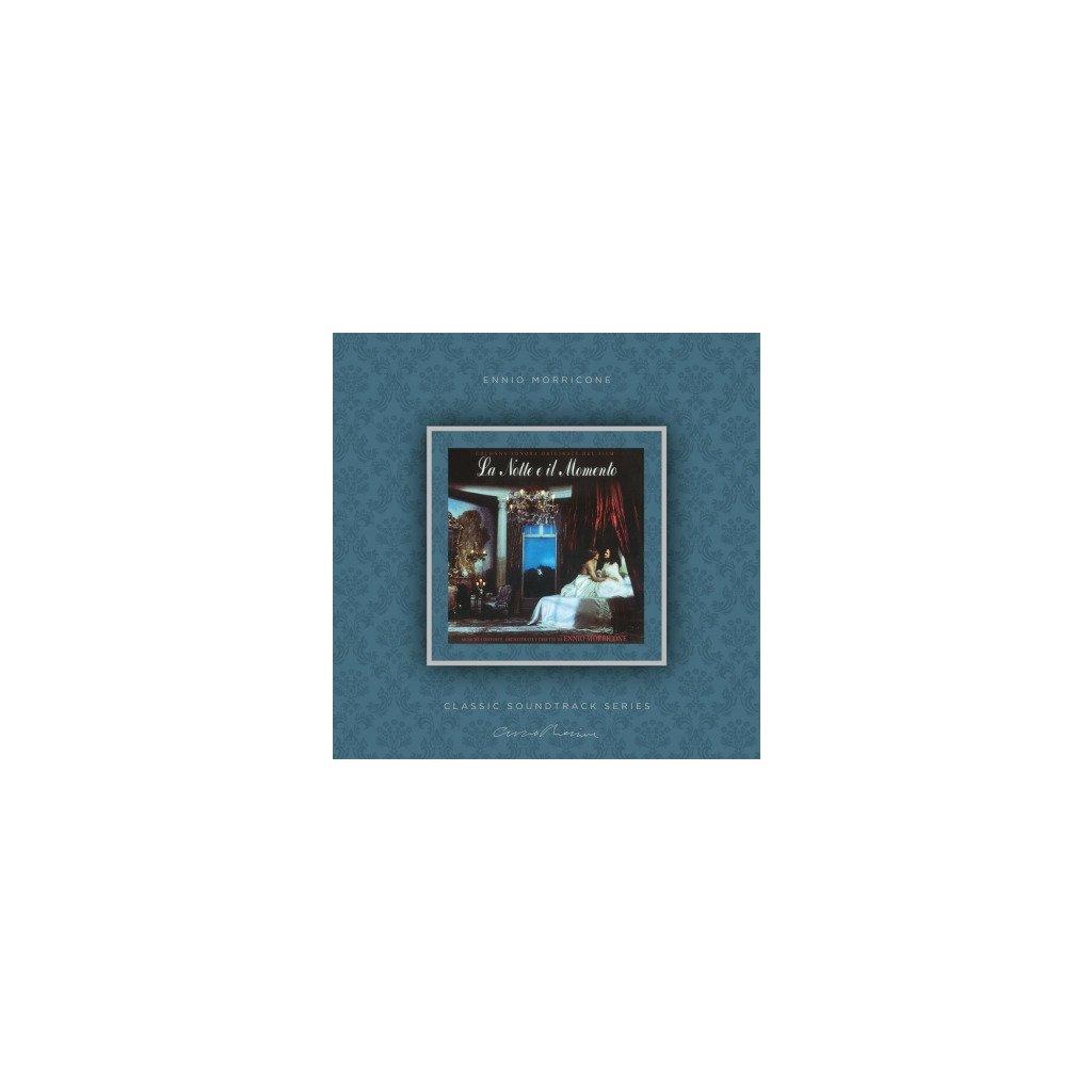 VINYLO.SK | MORRICONE, ENNIO - LA NOTTE E IL MOMENTO (OST) (LP)180GR./INSERT/OST/PVC SLEEVE/1000 CPS TRANSPARENT VINYL