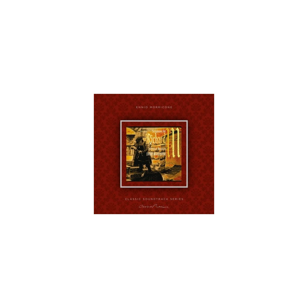 VINYLO.SK | MORRICONE, ENNIO - SYMPHONY FOR RICHARD III (OST) (LP)180GR./INSERT/OST/PVC SLEEVE/1000 CPS TRANSPARENT VINYL
