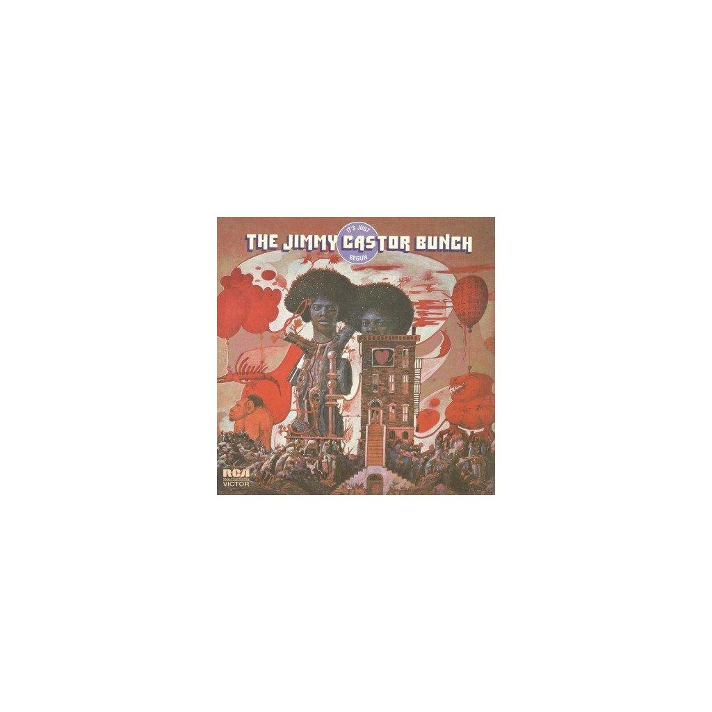 VINYLO.SK | CASTOR, JIMMY -BUNCH- - IT'S JUST BEGUN (LP)180GR./CLASSIC FUNK ALBUM/FT. TROGLODYTE & TITLE TRACK