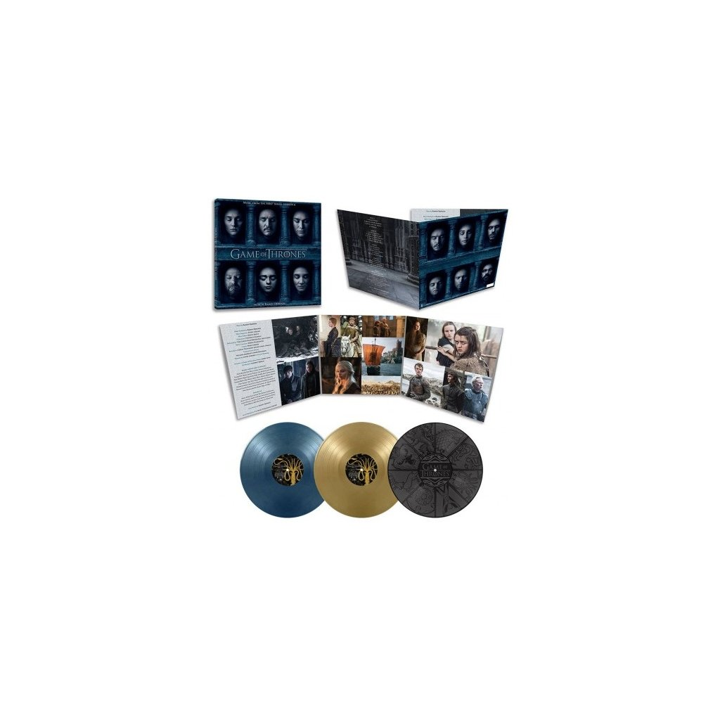 VINYLO.SK | OST - GAME OF THRONES 6 (RAMIN DJAWADI) [3LP] 180g TRIFOLD / PVC PROTECTION SLEEVE / ETCHED F-SIDE