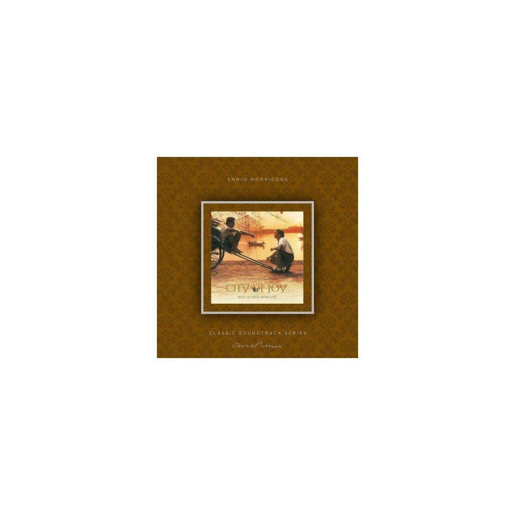 VINYLO.SK | MORRICONE, ENNIO - CITY OF JOY (OST) (LP)180GR./INSERT/OST/PVC SLEEVE/1000 CPS TRANSPARENT VINYL