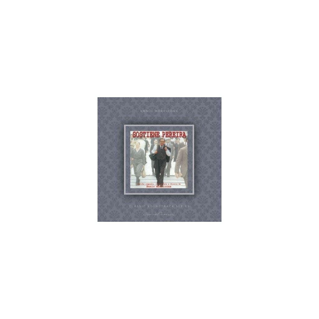 VINYLO.SK   MORRICONE, ENNIO - SOSTIENE PEREIRA (OST) (LP)180GR./INSERT/OST/PVC SLEEVE/1000 CPS TRANSPARENT VINYL