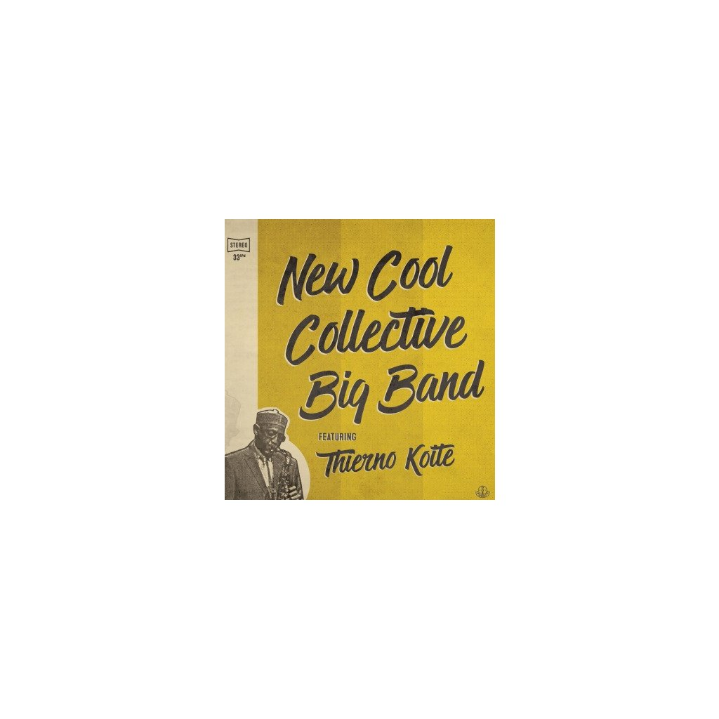 VINYLO.SK | NEW COOL COLLECTIVE BIG B - NEW COOL COLLECTIVE BIG BAND & THIERNO KOITE (LP)180GR./GATEFOLD/DOWNLOAD/750 CPS PURPLE/RED MIXED VINYL