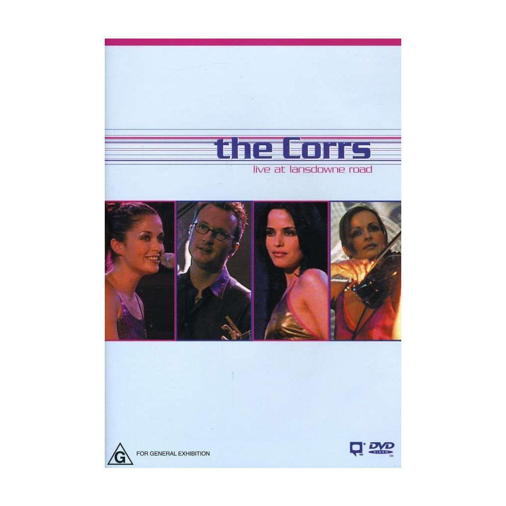 VINYLO.SK | CORRS, THE ♫ LIVE AT LANSDOWNE ROAD [DVD] 0085365312029