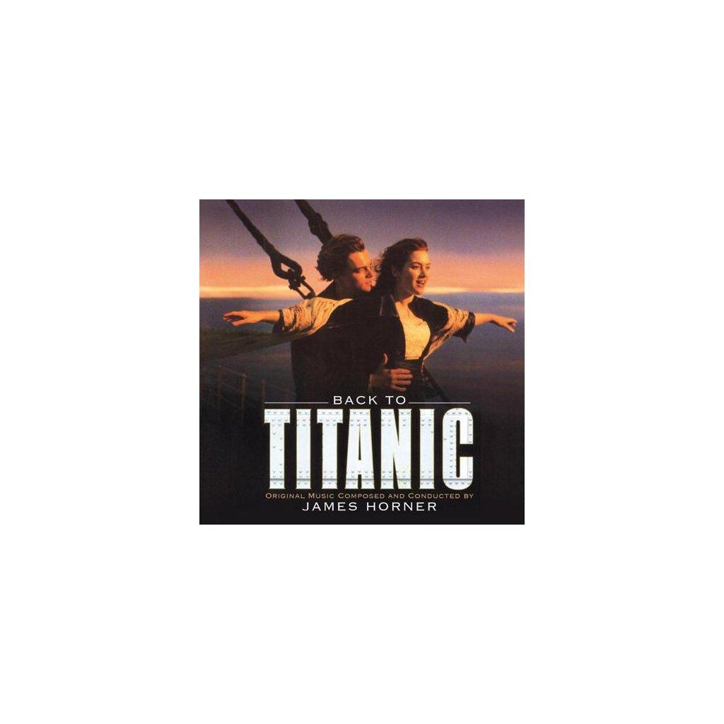 VINYLO.SK | OST - BACK TO TITANIC /Limited/GOLD VINYL [2LP] 180g GATEFOLD / BOOKLET / INCL EXTRAS / 5000 CPS GOLD VINYL
