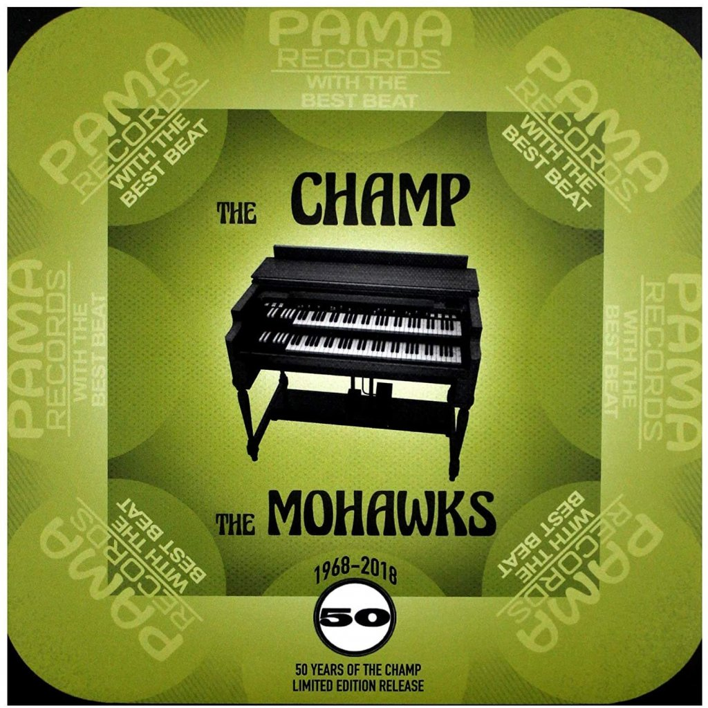 "VINYLO.SK | MOHAWKS - CHAMP /50th Anniv./Limited/GOLD VINYL [SP-7inch] 7"" / 50TH ANNIVERSARY OF SINGLE / RSD 2018 / 3500 CPS ON GOLD VINYL"