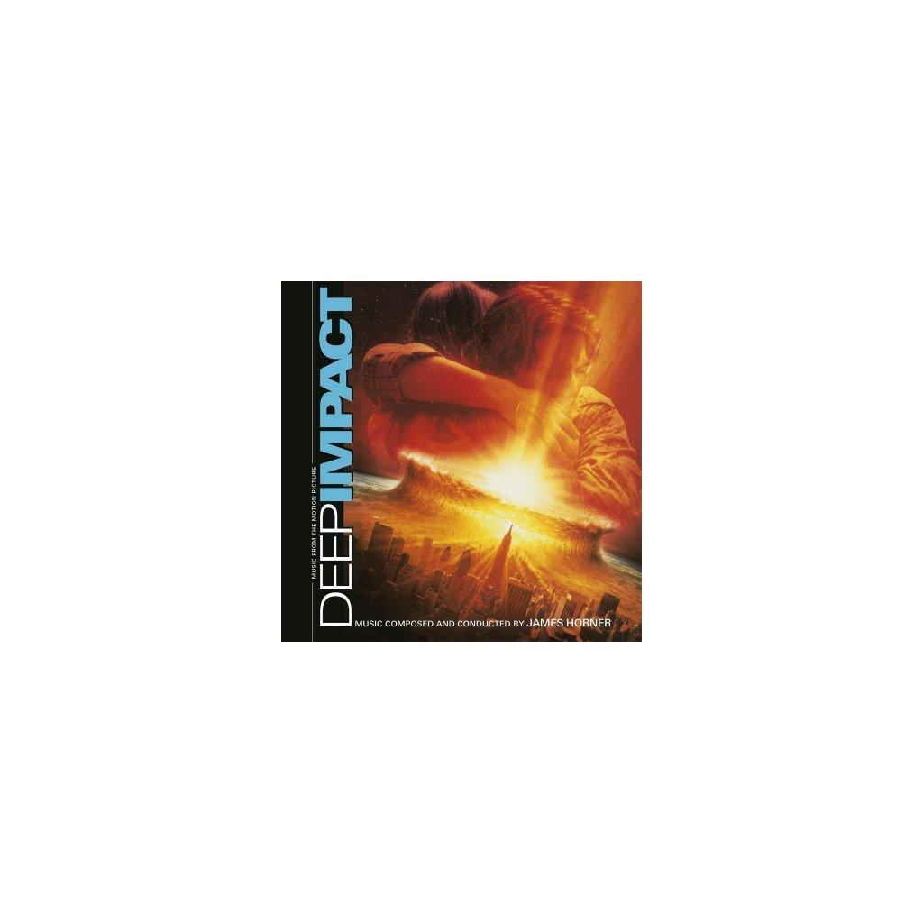 VINYLO.SK | OST - DEEP IMPACT (2LP)180GR/JAMES HORNER/750 COPIES ON FLAMING COLOURED VINYL