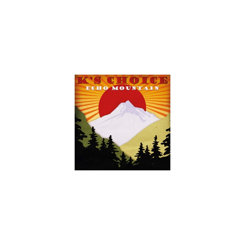 VINYLO.SK | K'S CHOICE - ECHO MOUNTAIN (LP)180GR/4P BOOKLET/750 NUMBERED CPS TRANSPARENT RED VINYL