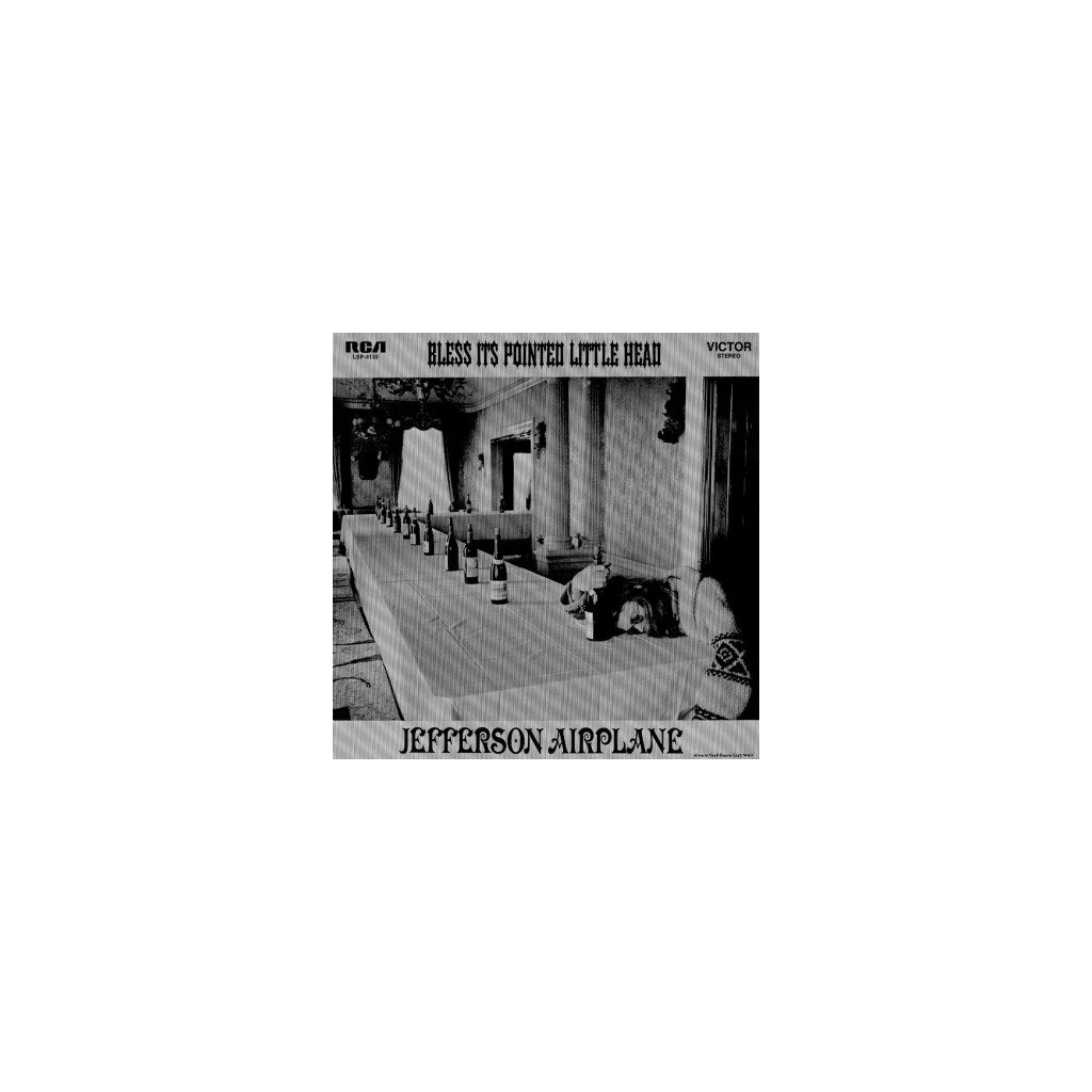 VINYLO.SK | JEFFERSON AIRPLANE - BLESS IT'S POINTED LITTLE HEAD (LP).. LITTLE HEAD//180GR./INSERT/1969 LIVE ALBUM