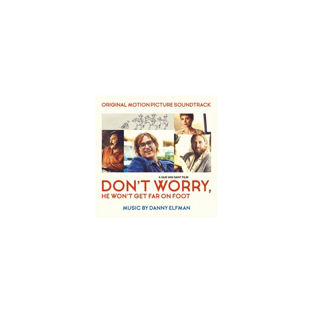 VINYLO.SK | OST - DON'T WORRY, HE WON'T GET FAR ON (LP)..GET FAR ON FOOT//180GR/DANNY ELFMAN/750 CPS COLOURED
