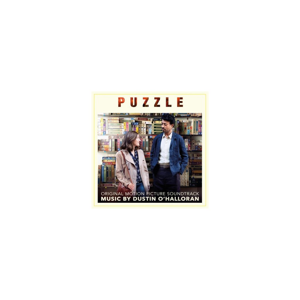 VINYLO.SK | OST - PUZZLE (LP)180GR./DUSTIN O'HALLORAN/INSERT/1000 CPS YELLOW VINYL