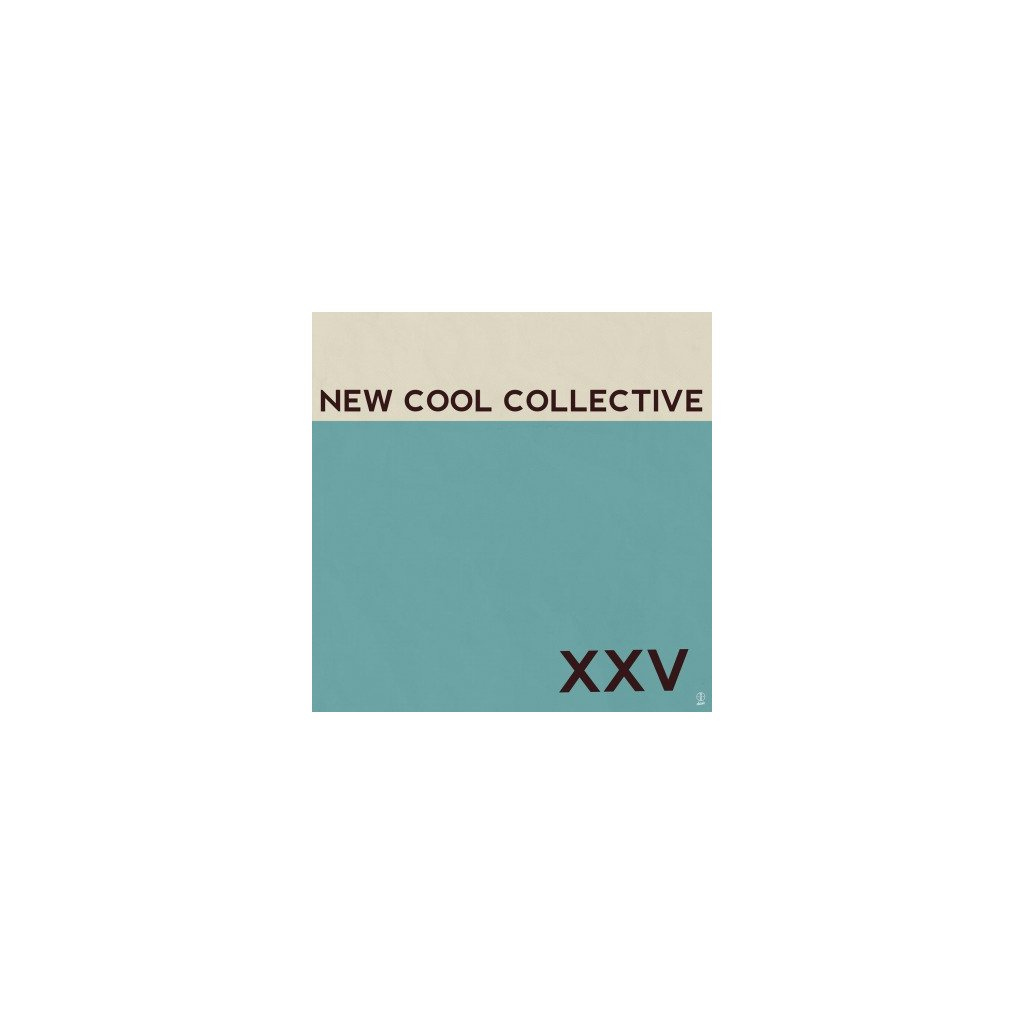 VINYLO.SK | NEW COOL COLLECTIVE - XXV (LP)180GR./PRINTED INNERSEEVE/750 COPIES ON TURQUOISE VINYL