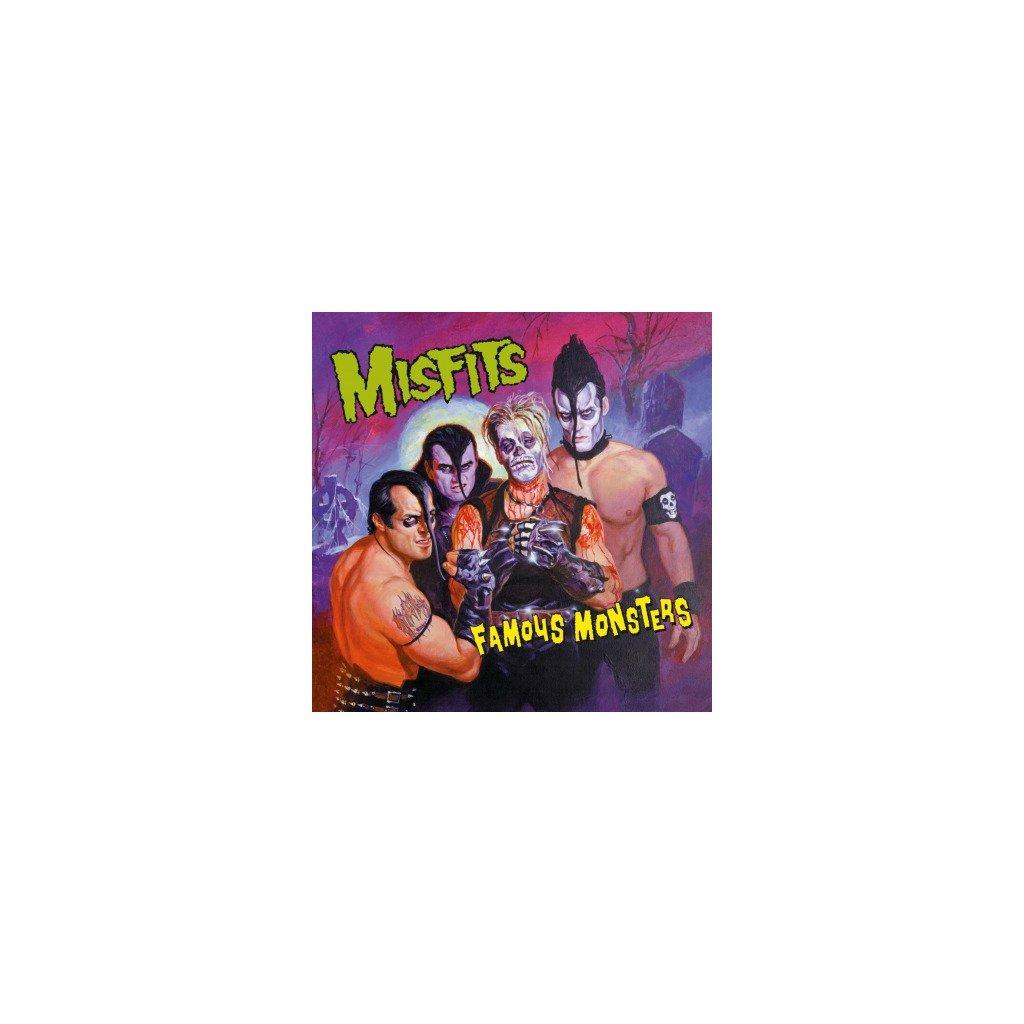 VINYLO.SK | MISFITS - FAMOUS MONSTERS (LP)180GR./4P BOOKLET/BLACK VINYL