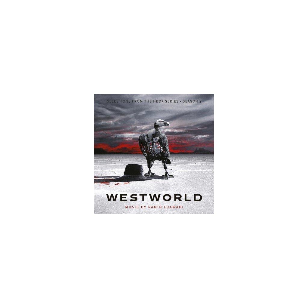 VINYLO.SK | OST - WESTWORLD S.2 -CLRD- 3LP (3LP)180GR./3LP/TRIFOLD/RAMIN DJAWADI/2000 CPS SILVER VINYL