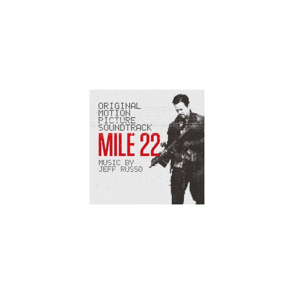 VINYLO.SK | OST - MILE 22 (2LP)180GR./GATEFOLD/INSERT/JEFF RUSSO/500 CPS SILVER VINYL