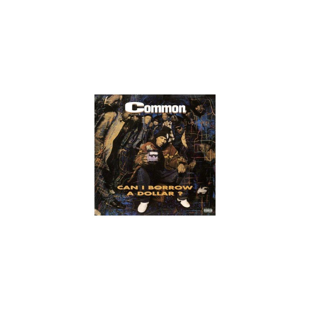 VINYLO.SK | COMMON - CAN I BORROW A DOLLAR (LP)..DOLLAR//180GR./DEBUT ALBUM/1500 CPS TRANSPARENT VINYL