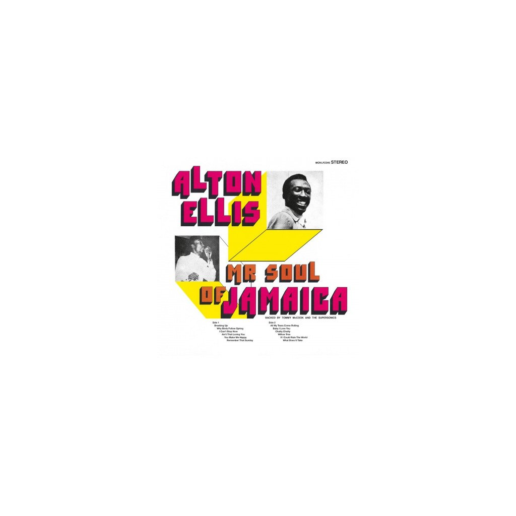 VINYLO.SK   ELLIS, ALTON - MR. SOUL OF JAMAICA (LP)..JAMAICA//180GR.