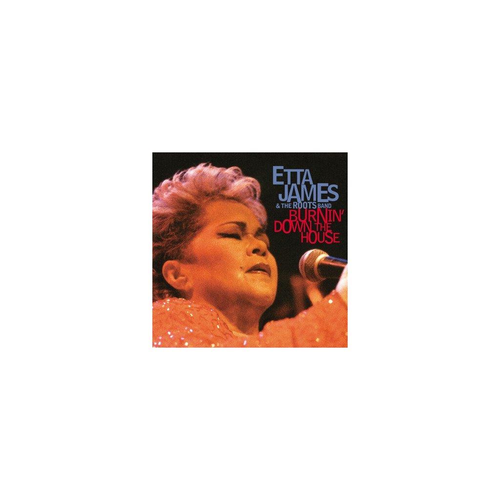 VINYLO.SK   JAMES, ETTA - BURNIN' DOWN THE HOUSE (2LP)180GR/HER LEGENDARY 2002 LIVE-ALBUM/FIRST TIME ON VINYL