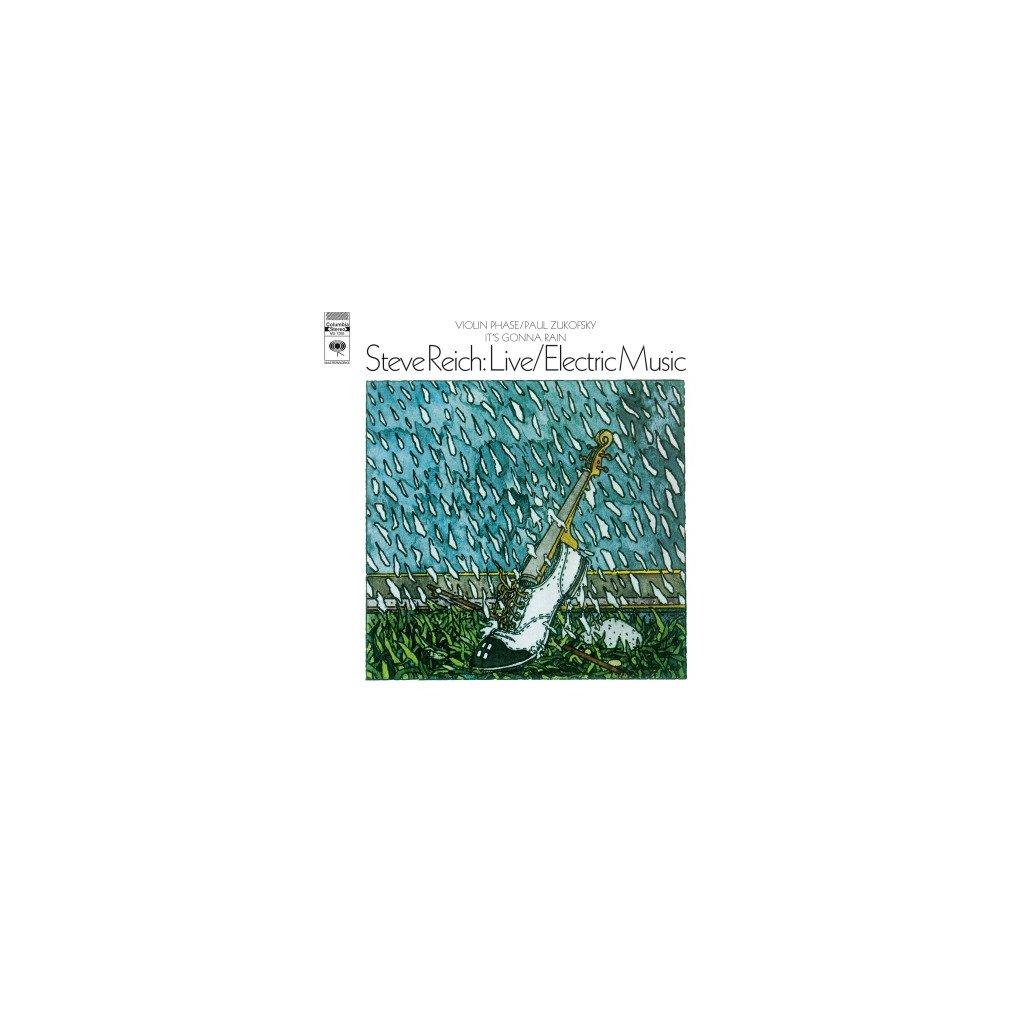 VINYLO.SK | REICH, STEVE - LIVE/ELECTRIC MUSIC (LP)180GR./PVC SLEEVE/MINIMALISM