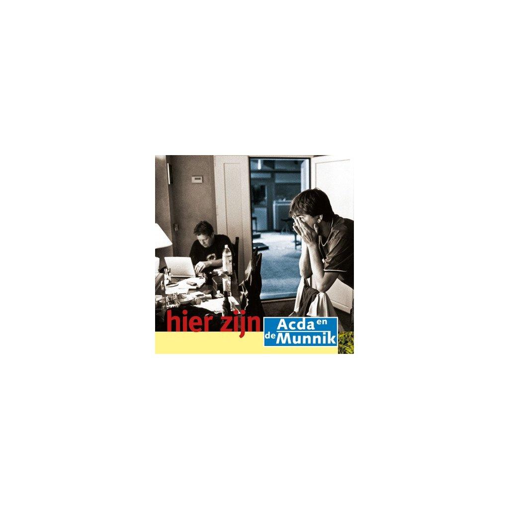 VINYLO.SK | ACDA & DE MUNNIK - HIER ZIJN (LP)180GR./INSERT/20TH ANN./1000 CPS TRANSPARENT RED VINYL