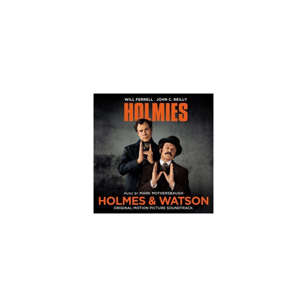 VINYLO.SK | OST - HOLMES & WATSON (LP)180GR/4P BOOKLET/MARK MOTHERSBAUGH/500 CPS ORANGE VINYL