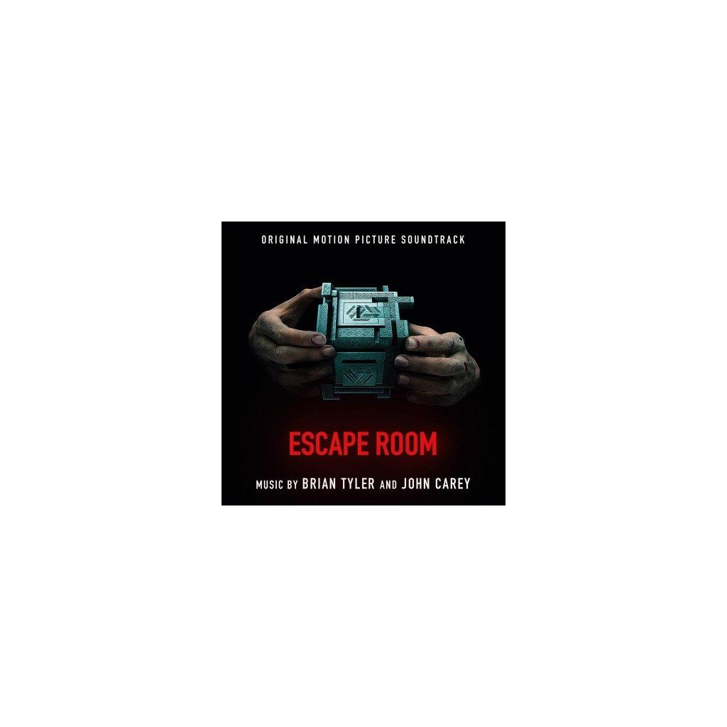 VINYLO.SK | OST - ESCAPE ROOM (2LP)180GR/GATEFOLD/BRYAN TYLER-JOHN CAREY/500 CPS RED VINYL