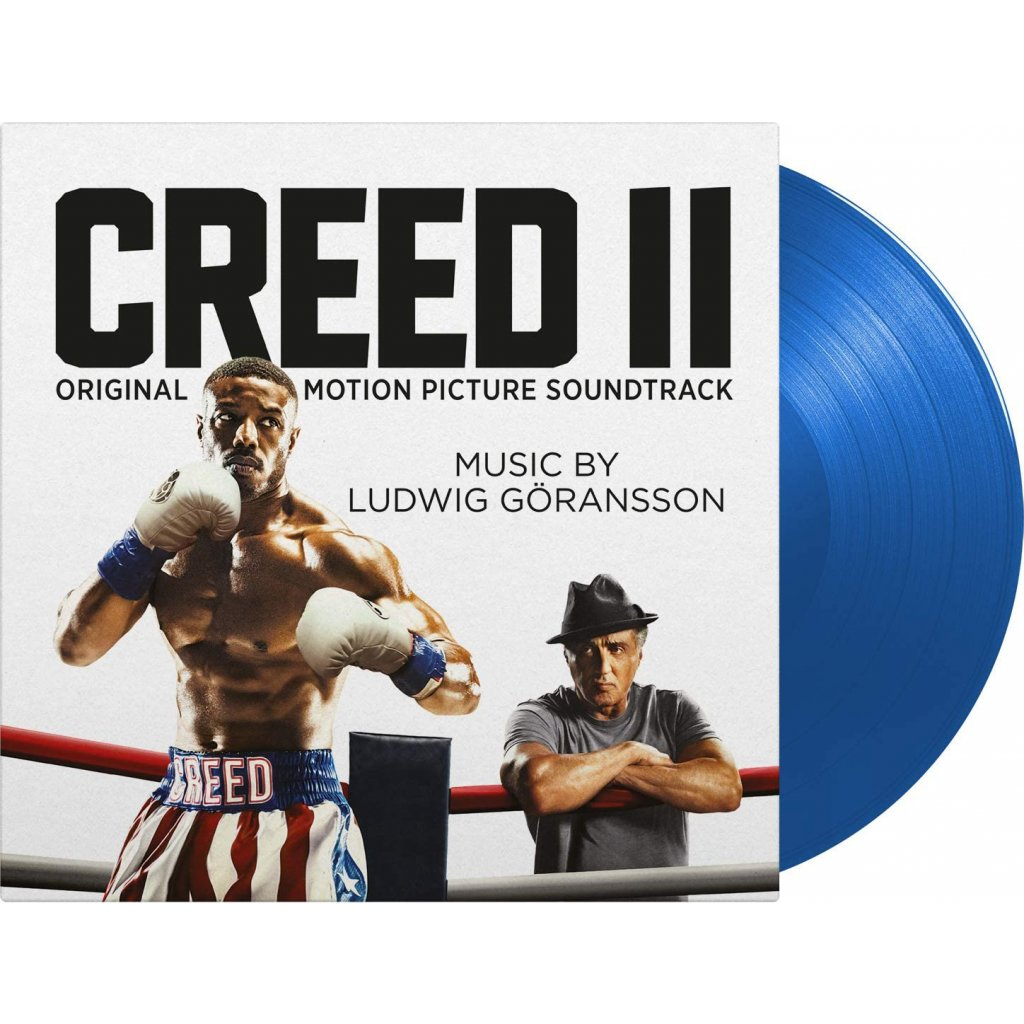 VINYLO.SK | OST - CREED II /Limited/BLUE VINYL [LP] 180g LUDWIG GORANSSON / 500 NUMBERED COPIES BLUE VINYL