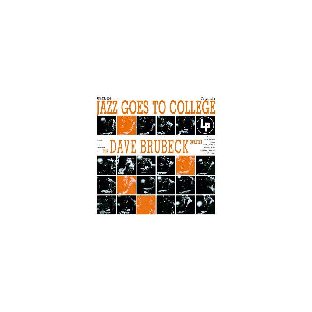 VINYLO.SK | BRUBECK, DAVE -QUARTET- - JAZZ GOES TO COLLEGE (LP).. COLLEGE//180GR./65TH ANN./1000 CPS ON ORANGE VINYL