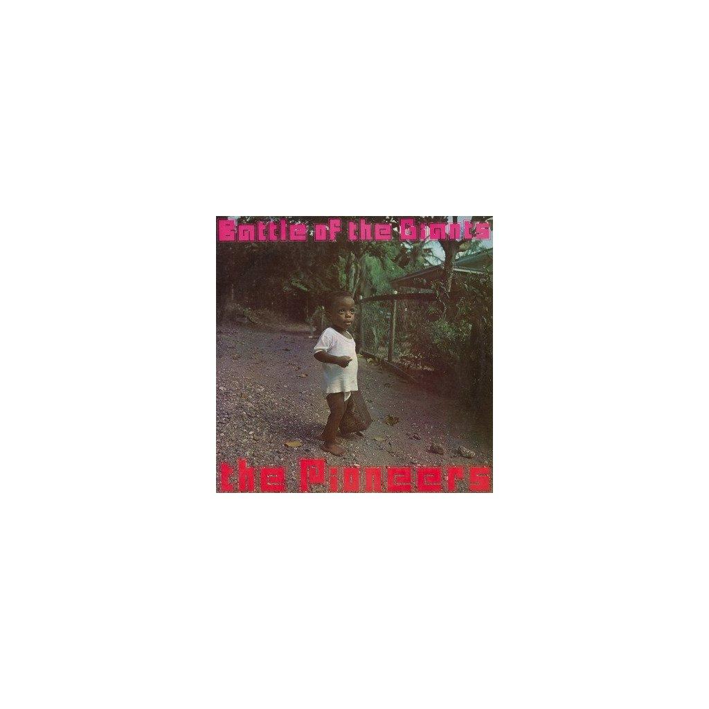 VINYLO.SK | PIONEERS - BATTLE OF THE GIANTS (LP).. GIANTS//180GR./750 NUMBERED COPIES ON ORANGE VINYL