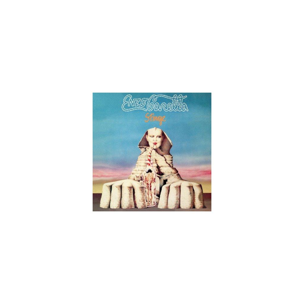 VINYLO.SK | CARELLA, ENZO - SFINGE (LP)180GR./INSERT/1000 COPIES ON TRANSPARENT BLUE VINYL