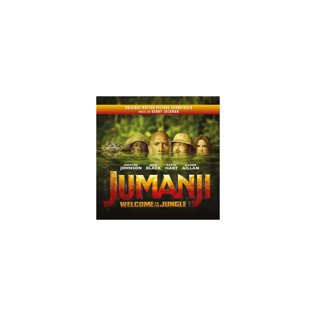 VINYLO.SK | OST - JUMANJI: WELCOME TO THE JUNGLE (2LP)..TO THE JUNGLE/180GR./250 CPS SILVER & BLACK MARBLED