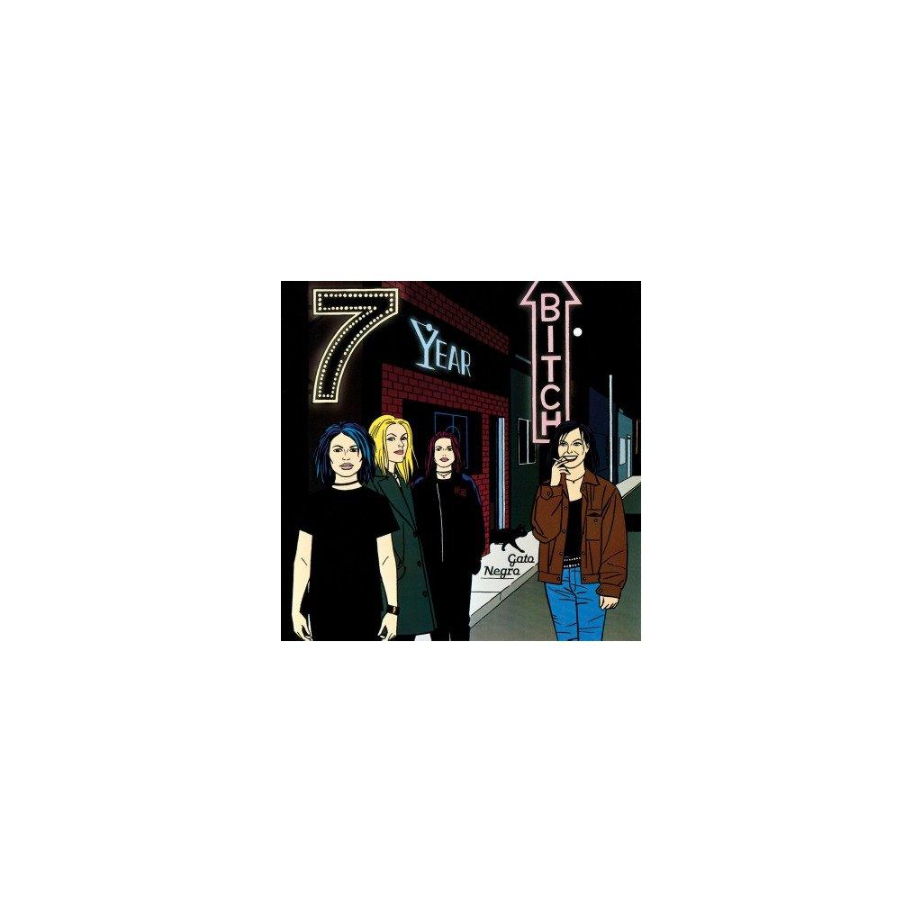 VINYLO.SK | SEVEN YEAR BITCH - GATO NEGRO (LP)180GR./INSERT/500 COPIES MOSS GREEN COLOURED VINYL