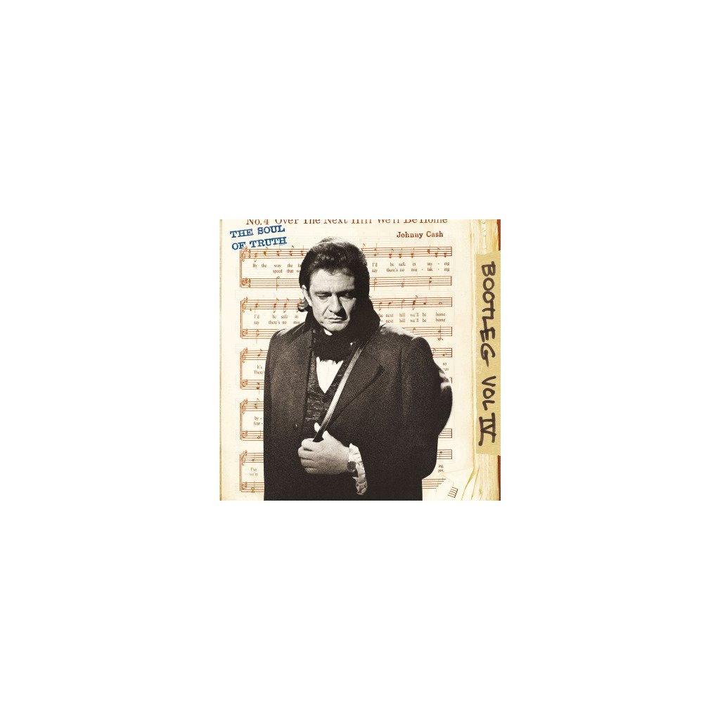 VINYLO.SK | CASH, JOHNNY - BOOTLEG 4: THE SOUL OF TRUTH (3LP)..SOUL OF TRUTH/180GR./20P BOOKLET/1500 CPS TRANSPARENT