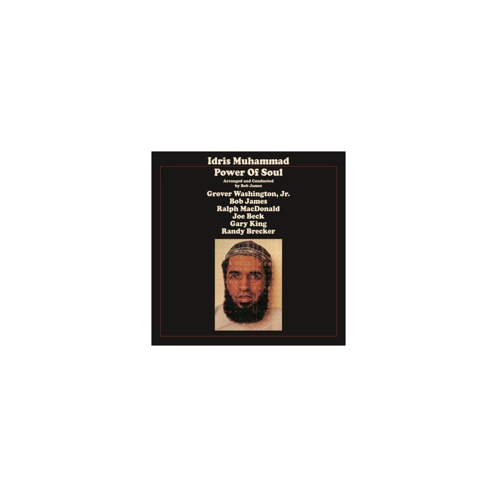 VINYLO.SK   MUHAMMAD, IDRIS - POWER OF SOUL (LP)180GR./REMASTERED/BOB JAMES/1500 CPS TRANSLUCENT YELLOW