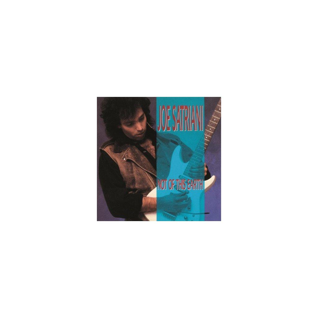 "VINYLO.SK | SATRIANI, JOE - NOT OF THIS EARTH (LP)180GR/DEBUT FT ""RUBINA""/1500 CPS TRANSPARENT BLUE VINYL"