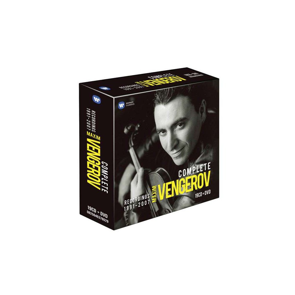 VINYLO.SK | VENGEROV, MAXIM ♫ THE COMPLETE WARNER RECORDINGS [19CD + DVD] 0825646315147