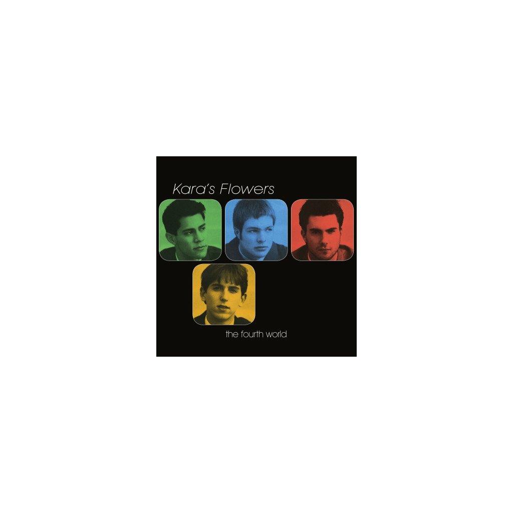 VINYLO.SK | KARA'S FLOWERS - FOURTH WORLD (LP)180GR./4P BOOKLET/MAROON 5/1000 CPS BLUE MARBLED VINYL