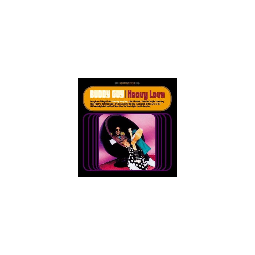 VINYLO.SK | GUY, BUDDY - HEAVY LOVE (2LP)180GR./GATEFOLD/1998 ALBUM/FIRST TIME ON VINYL