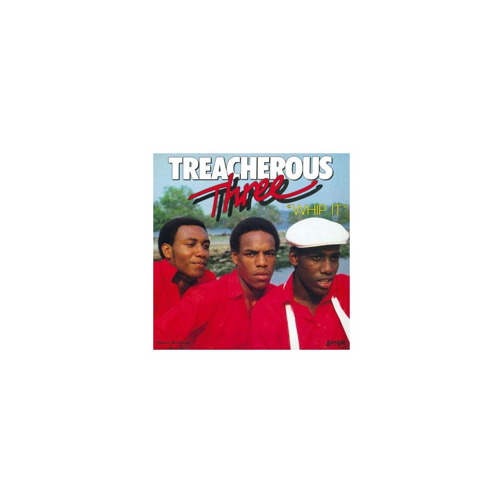 VINYLO.SK | TREACHEROUS THREE - WHIP IT (LP)180GR./750 NUMBERED COPIES ON RED VINYL