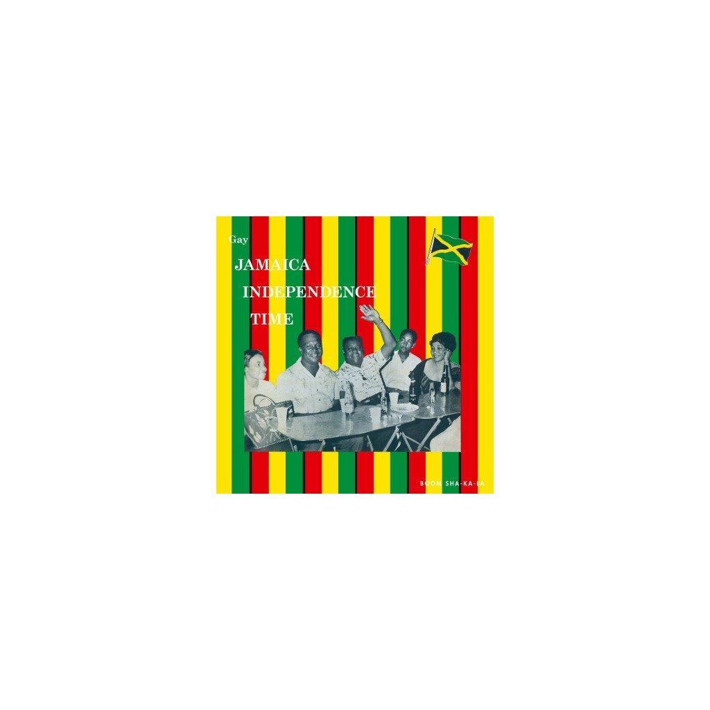 VINYLO.SK   V/A - GAY JAMAICA INDEPENDENCE TIME (LP).. INDEPENDENCE TIME//180GR./750 COPIES ON ORANGE VINYL