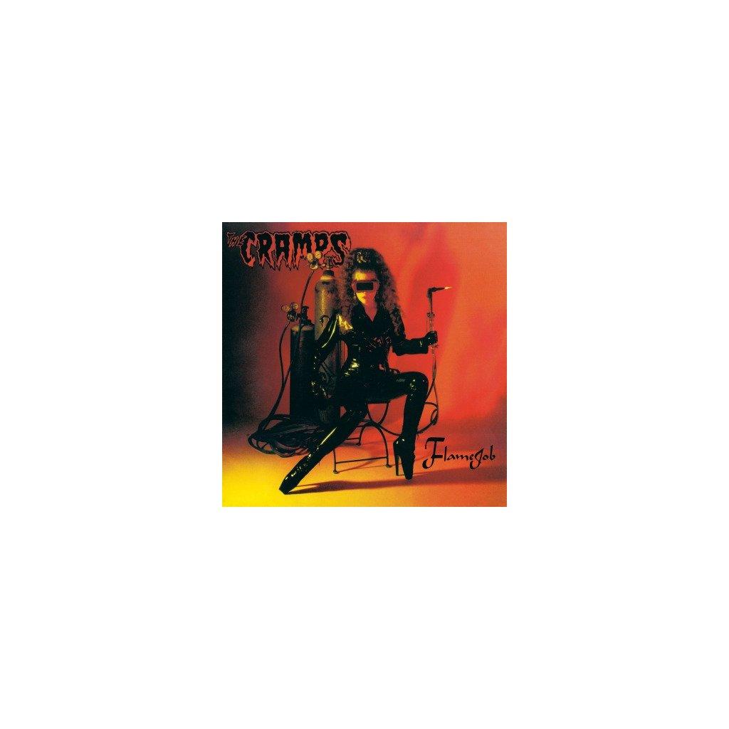 VINYLO.SK | CRAMPS - FLAMEJOB (LP)180GR./INSERT/BLACK VINYL